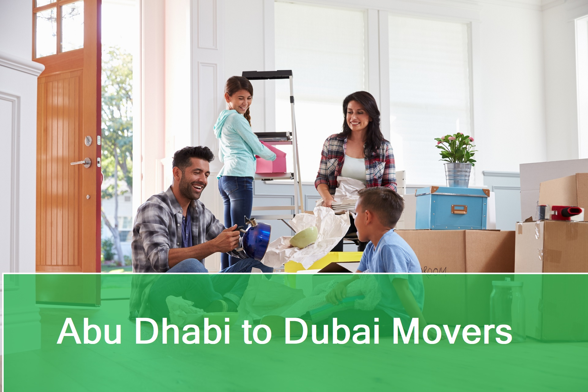 Best movers and Packers from Abu Dhabi to Dubai