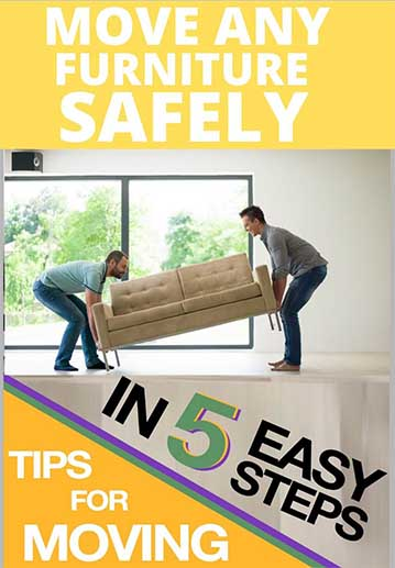 Move Any Furniture Safely in 5 Simple Steps