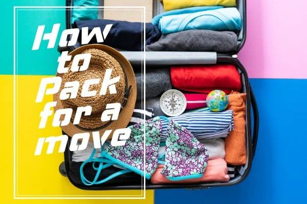 List on How to Pack for a move
