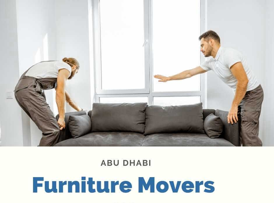 Furniture movers and packers in Abu Dhabi