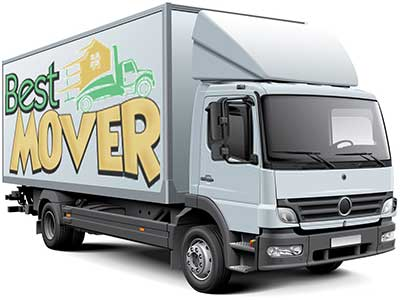 movers in Dubai truck